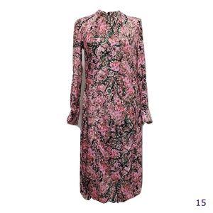 H & M Pink Floral Dress Open Back Detail Sz 4 NWT
